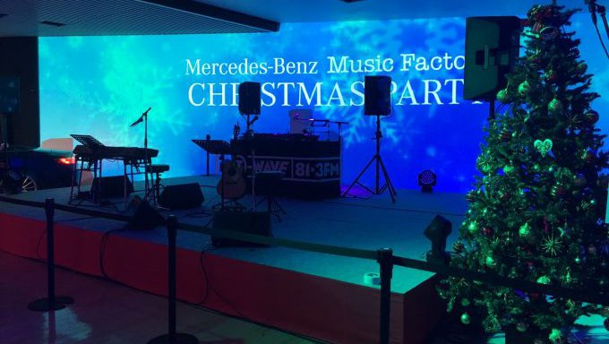 Mercedes-Benz MUSIC FACTORY CHRISTMAS PARTY