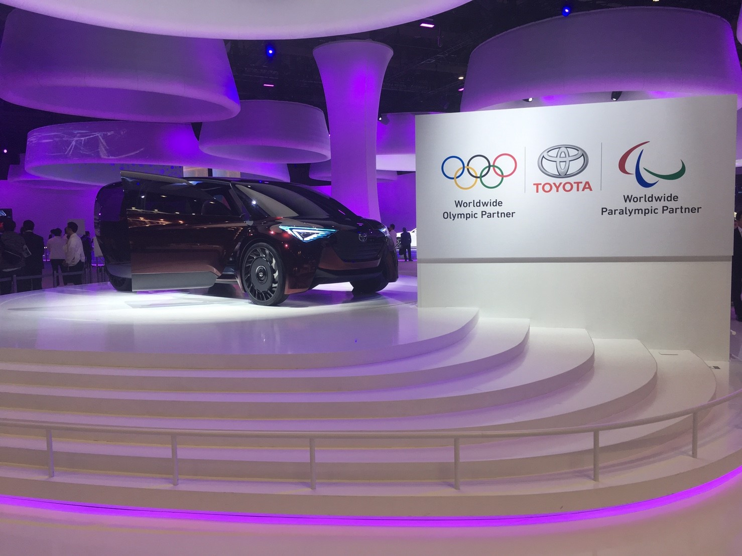 TOKYO MOTOR SHOW 2017 TOYOTA BOOTH