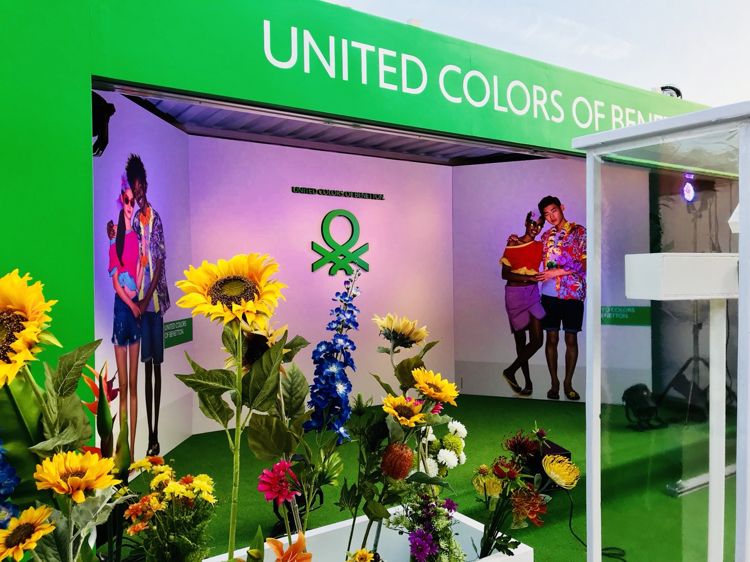 GREENROOM FESTIVAL'18 「UNITED COLORS OF BENETTON.」
